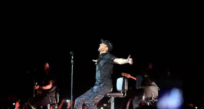 Enrique Iglesias emociona a seguidores en de Durango