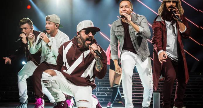 Fans heridos en concierto de Backstreet Boys