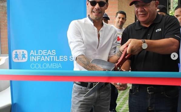 Marc Anthony y su fundación Maestro Cares abren Centro de Desarrollo Familiar en Cali, Colombia
