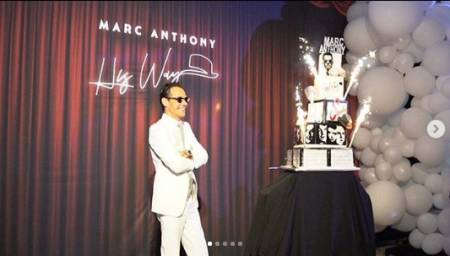 Marc Anthony celebra en grande sus 50 años