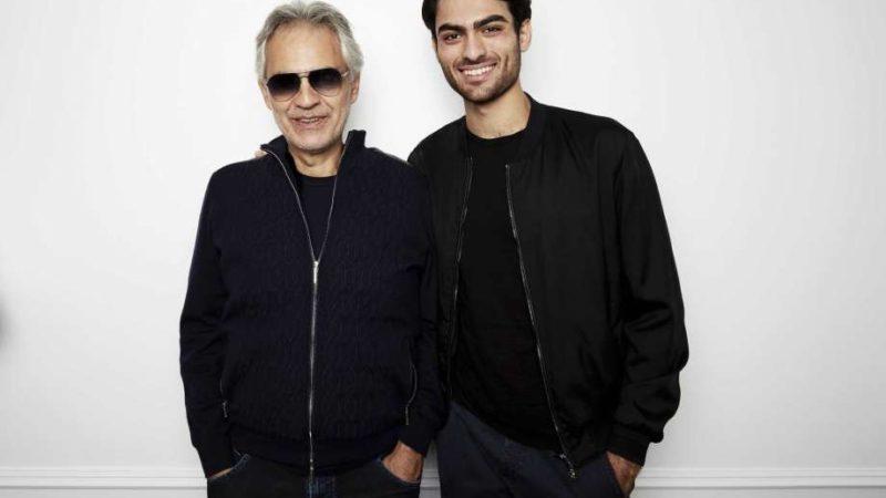 Andrea Bocelli canta con su hijo Matteo en nuevo disco