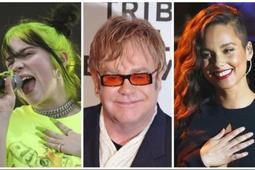 """Elton John, Billie Eilish y Alicia Keys darán """"show"""" benéfico por el COVID-19"""