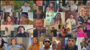 """Más de 30 artistas en la nueva versión de la icónica canción """"Color Esperanza"""""""