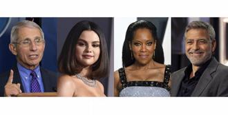 """George Clooney y Selena Gomez como """"Personas del Año 2020"""" de la revista People"""