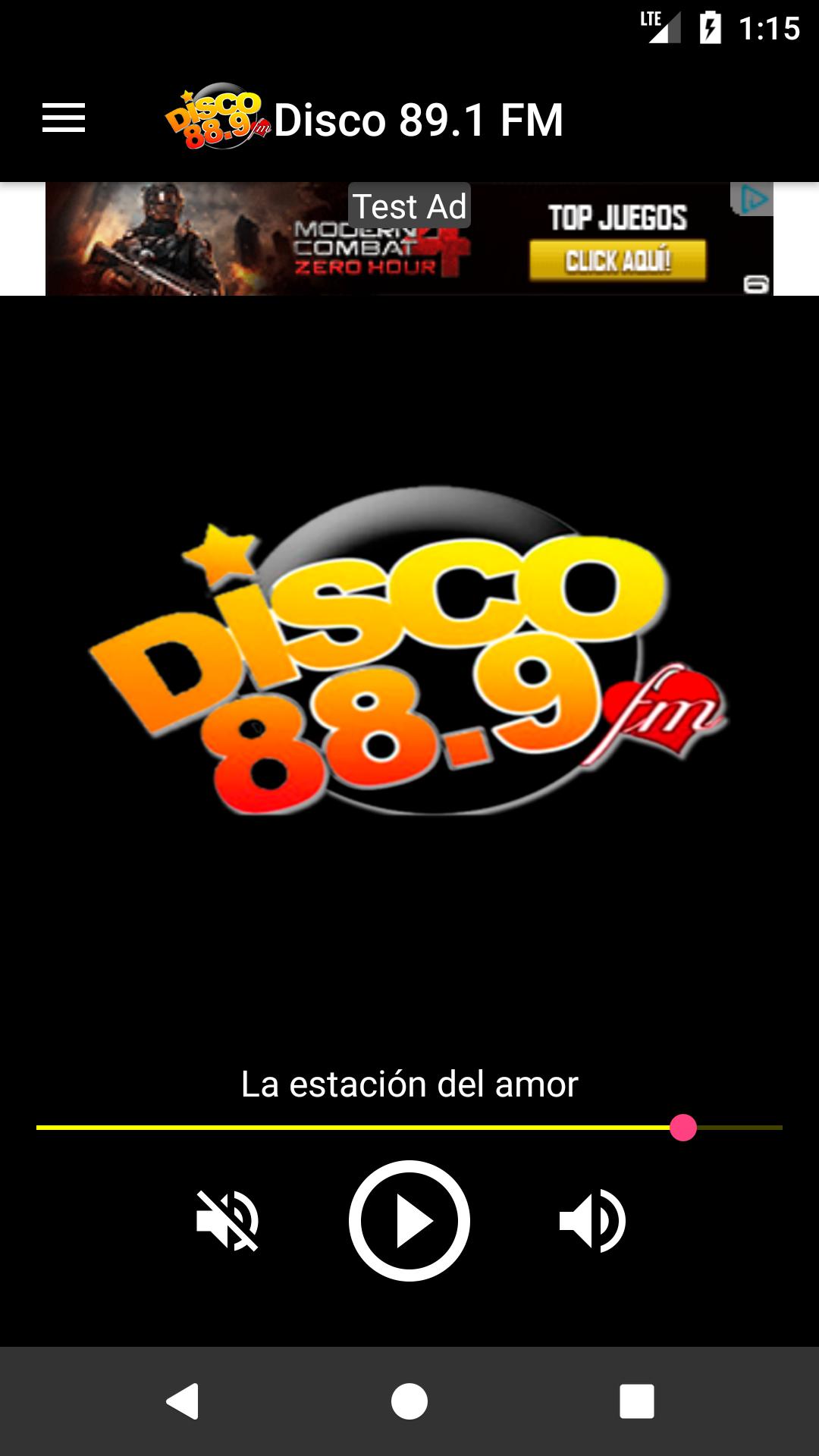 Disco 89 app Screenshot